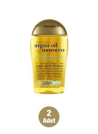 Organix Organix Moroccan Argan Oil Extra Penetrating Oil Kuru Yağ 100 Ml 2 Adet Renksiz